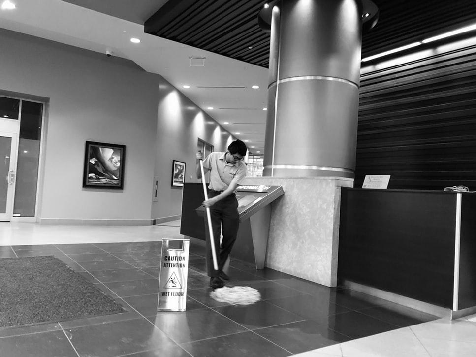 Professionnels de nettoyage